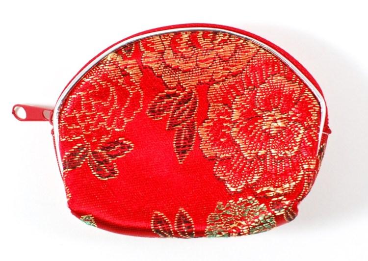 brocade coin pouch