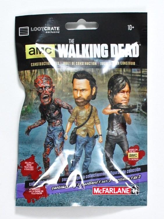 Loot Crate Walking Dead figure