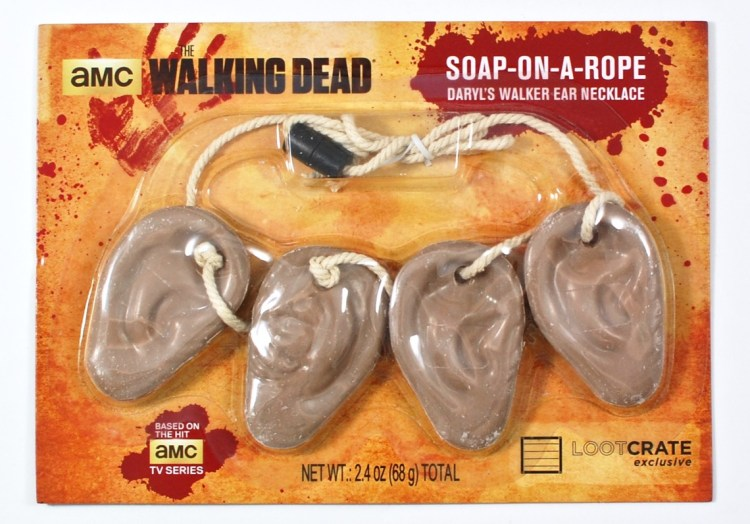 The Walking Dead soap on a rope ears