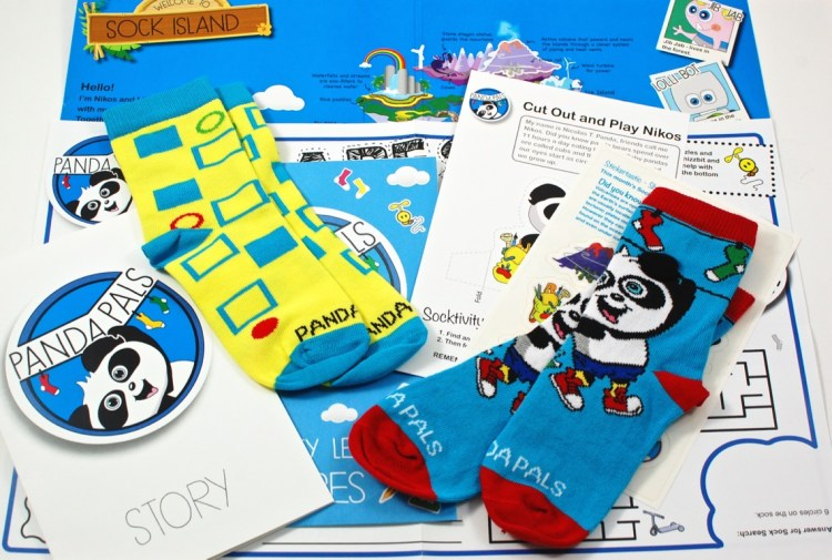 Panda Pals February 2016 Review & Coupon Code