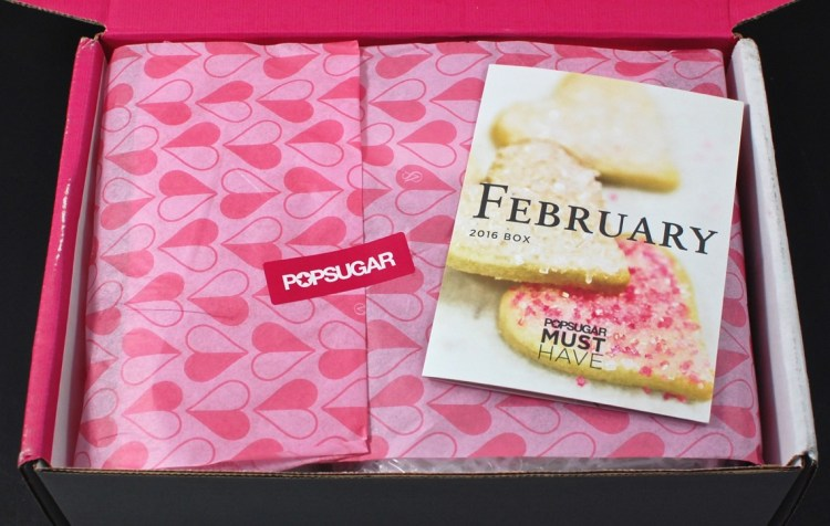 February 2016 POPSUGAR Must Have box