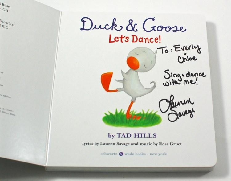 Duck & Goose Let's Dance