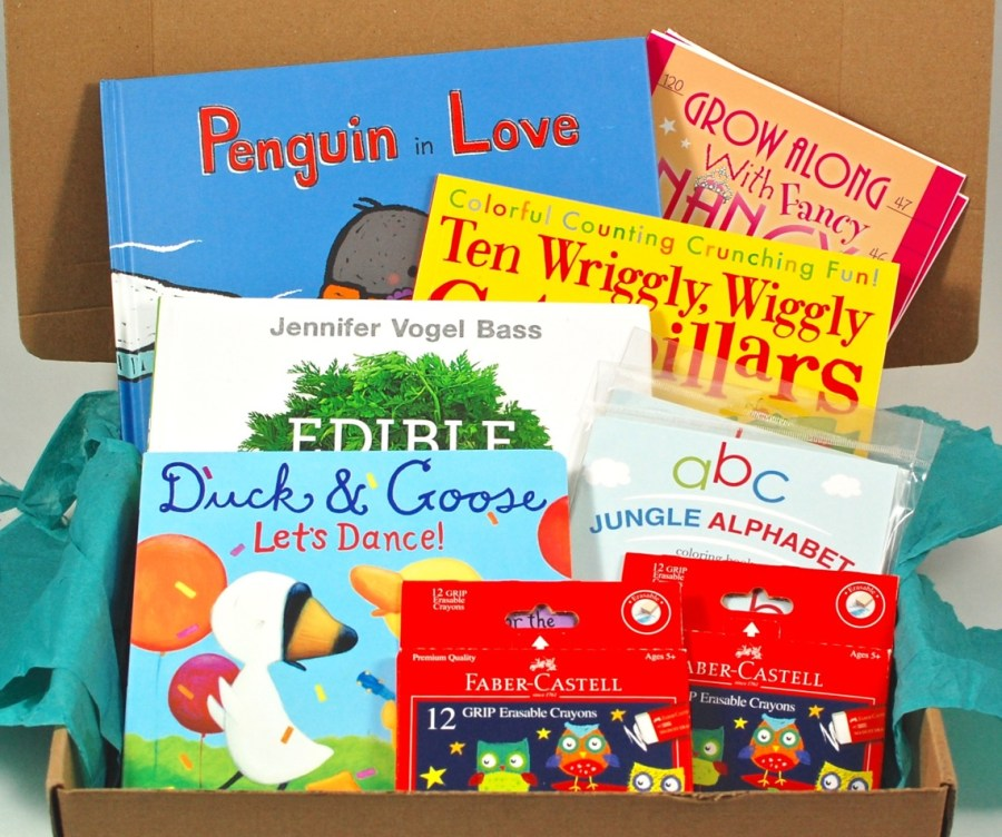 February 2016 Reading Bug Box review