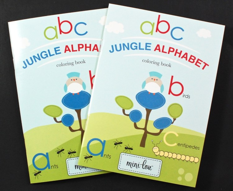 Jungle alphabet book