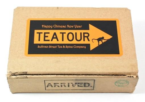 Tea Tour box