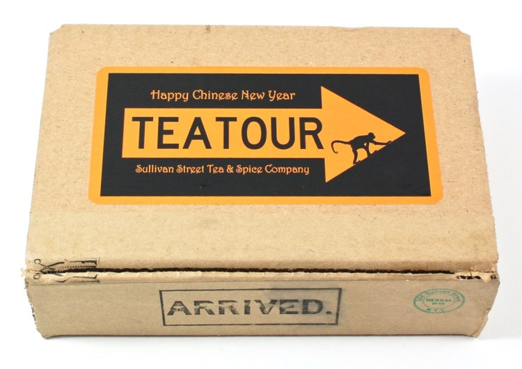 Tea Tour box