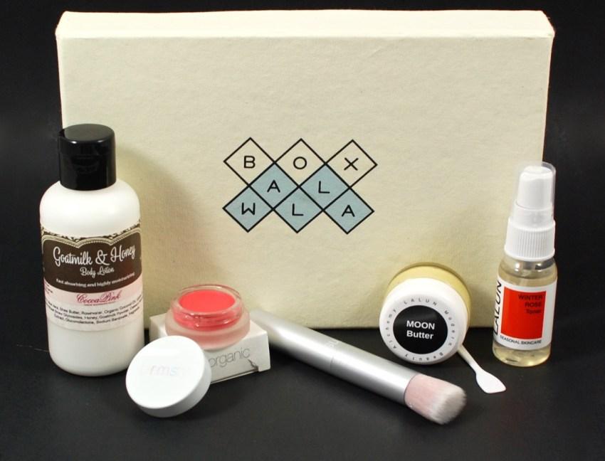 Boxwalla February 2016 beauty box