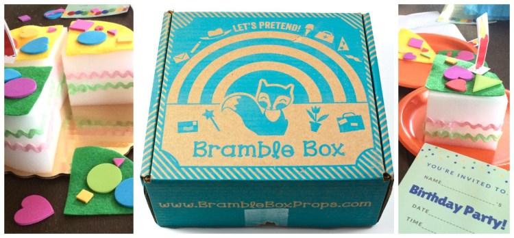 Bramble Box March 2016 Review & Coupon Code
