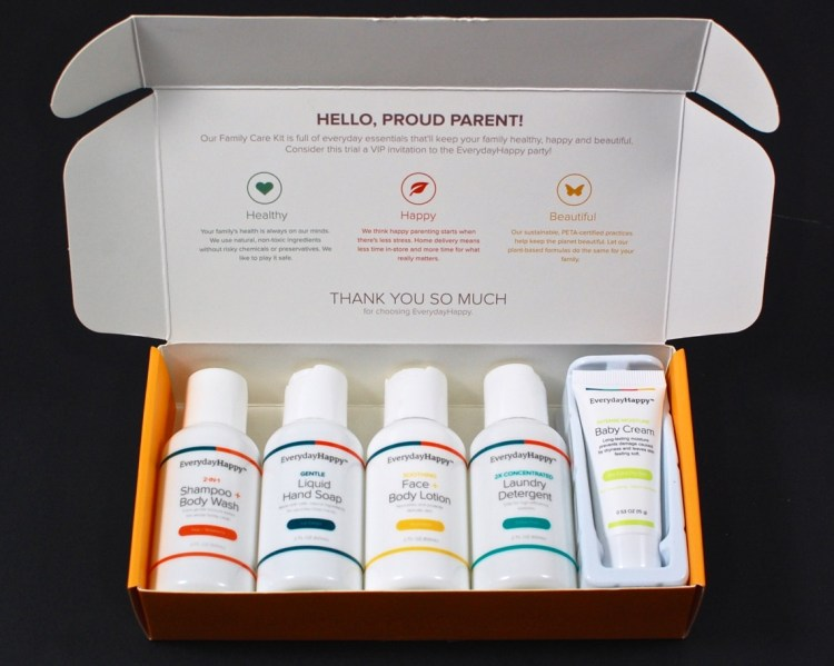 Free trial family care kit