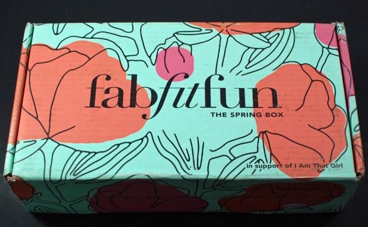 FabFitFun Spring 2016 review