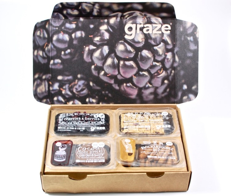 Graze March 2016 Subscription Box Review & First Box FREE