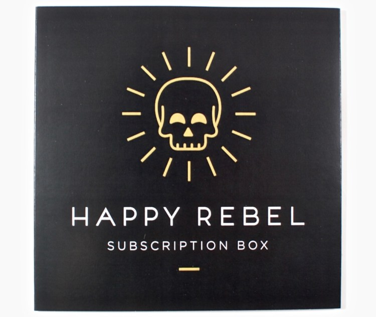 Happy Rebel box march 2016