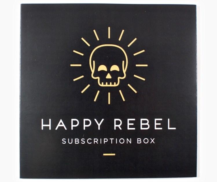 Happy Rebel box march 2016