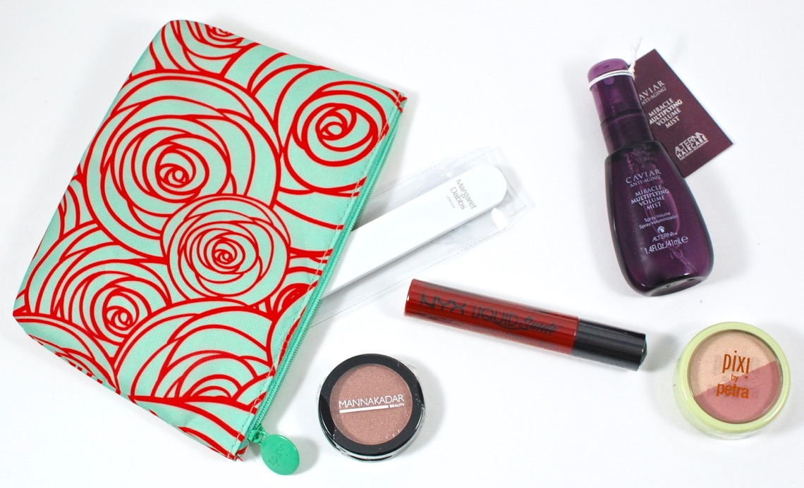 Ipsy March 2016 Glam Bag Review 2 Little Rosebuds