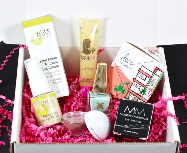 LaRitzy March 2016 Vegan Beauty Box Review