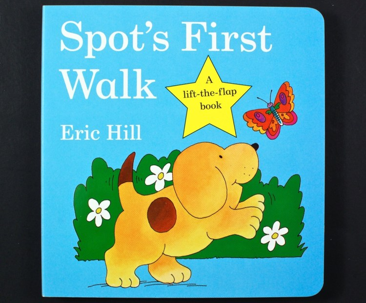 Spot's first walk book