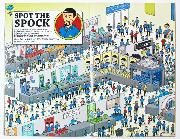 spot the spock