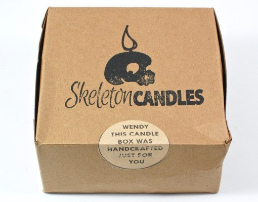 Skeleton Candles box