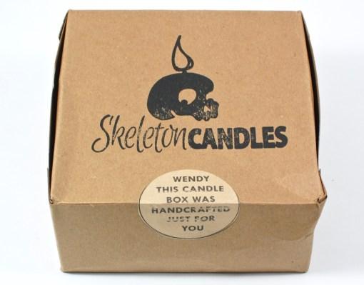 Skeleton Candles box