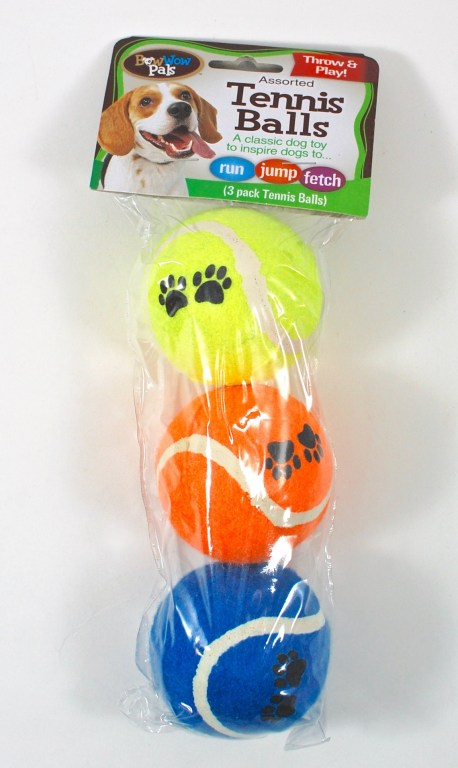 bow wow pals tennis balls