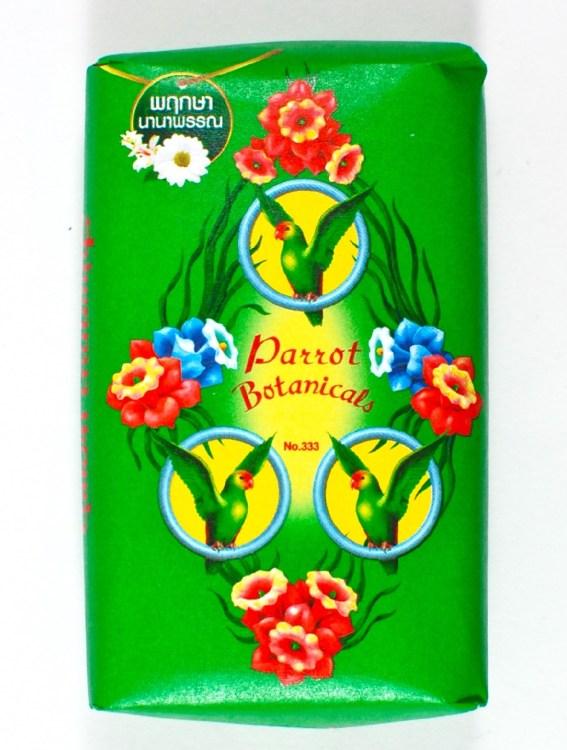 parrot soap