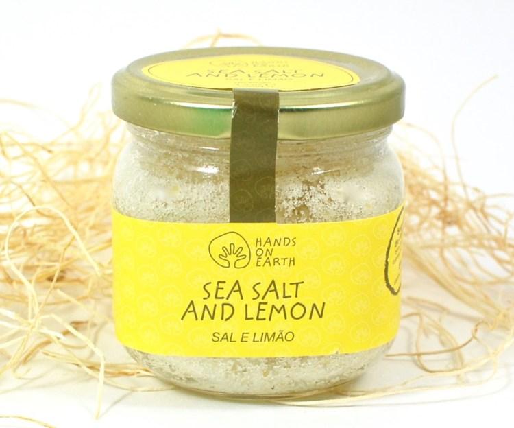 sea salt and lemon