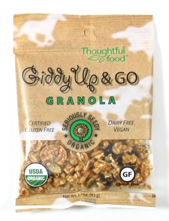 Giddy Up & Go granola