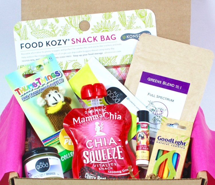 "Ecocentric Mom March/April 2016 ""Mom & Baby"" Box Review"