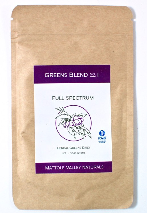 full spectrum herbal greens
