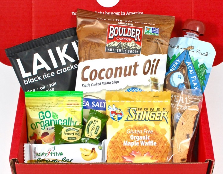 Love With Food April 2016 Review & First Box Only $7.99 Shipped