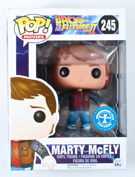 Marty McFly POP figure