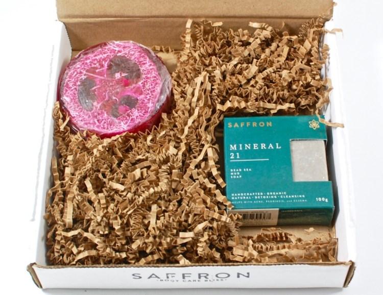 Saffron soap box review