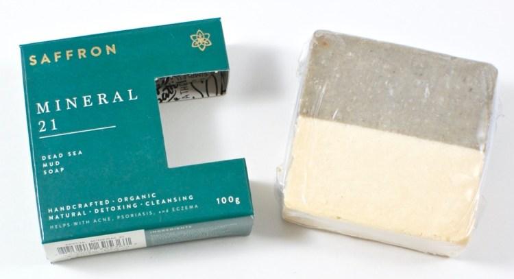 Saffron Mineral 21 soap