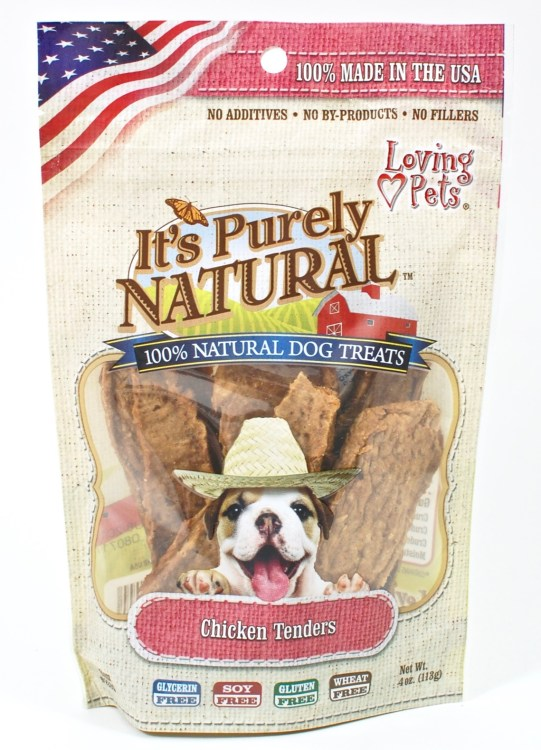 Purely Natural chicken tenders dog treats