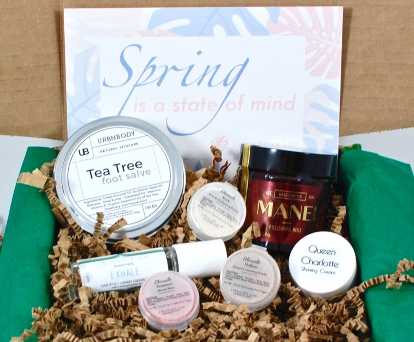 April 2016 Terra Bella Box review