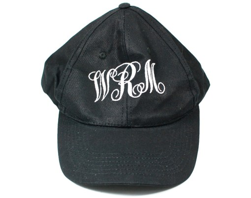 Teal Prep Box monogrammed hat