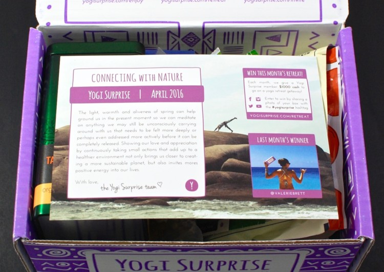 April 2016 Yogi Surprise