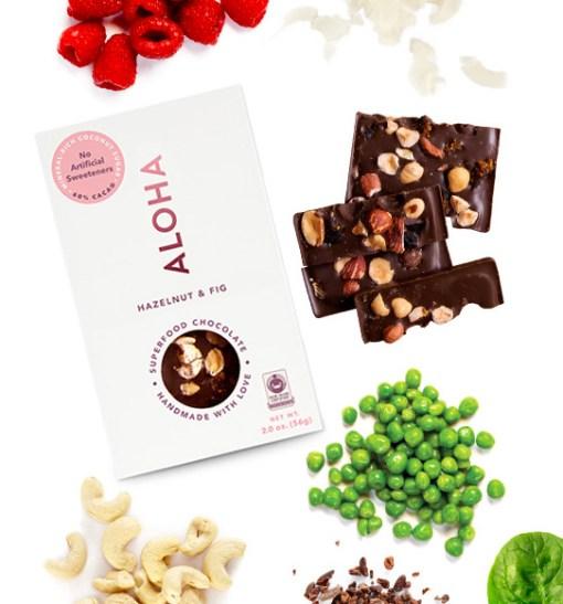 ALOHA Chocolate snacks