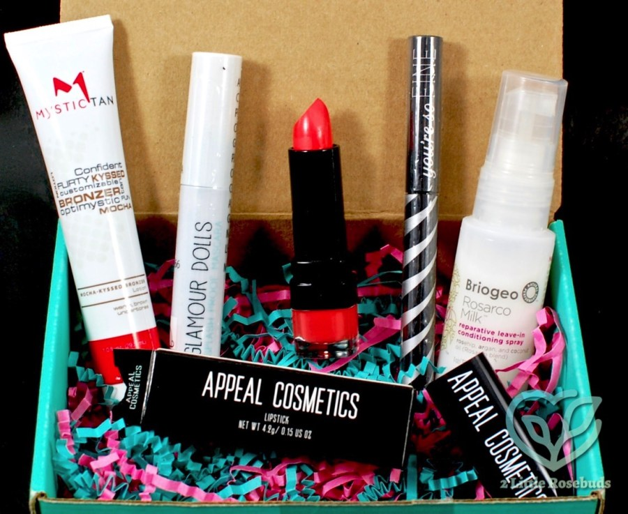 May 2016 Beauty Box 5 review
