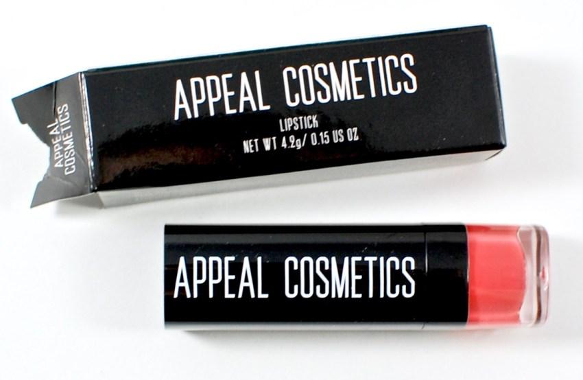 Appeal Cosmetics lipstick