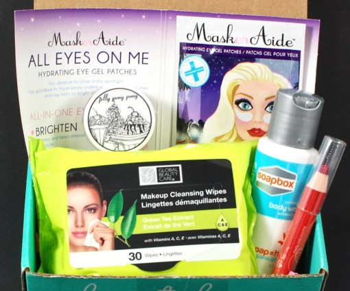April 2016 Beauty Box 5 review