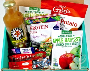 May 2016 Fit Snack review