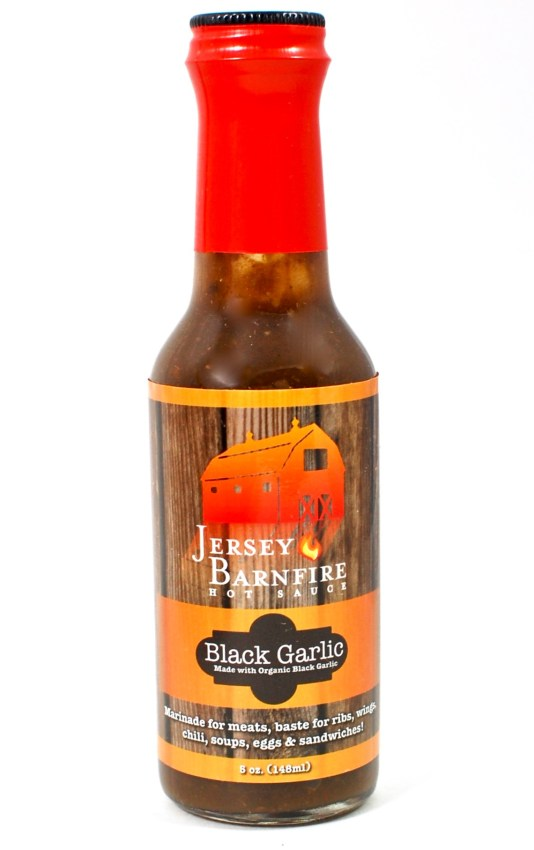 Jersey Barnfire hot sauce