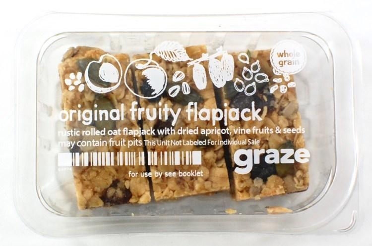 graze fruity flapjacks