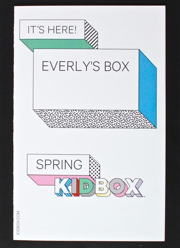 Kidbox Spring 2016 review