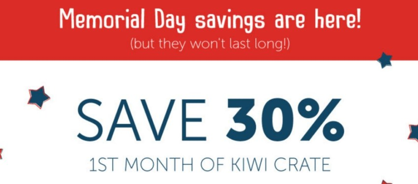 kiwi crate coupon
