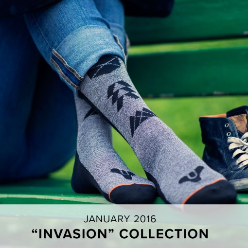 "Loot Socks ""Invasion"" Collection"