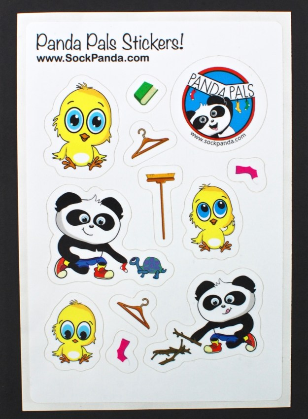 Panda Pals stickers