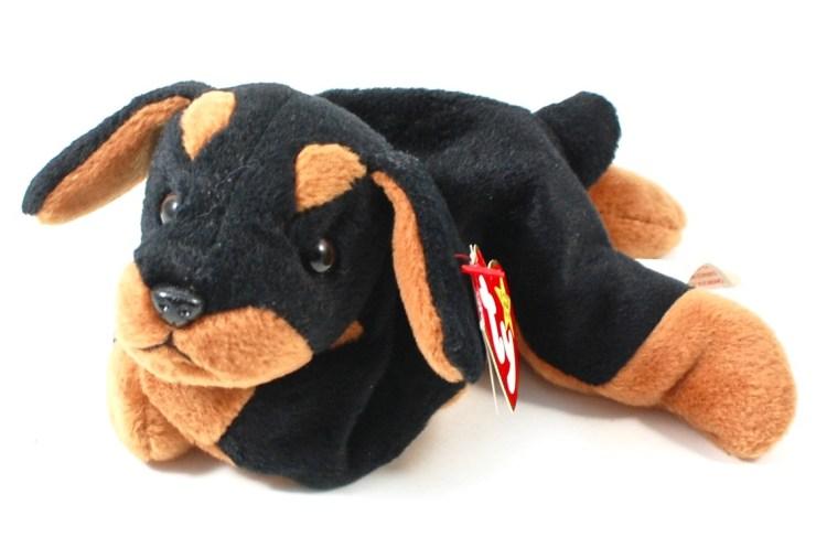 Beanie baby dog