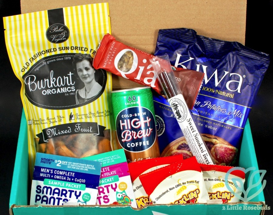 Fit Snack June 2016 review